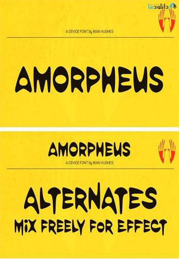 Amorpheus-Font