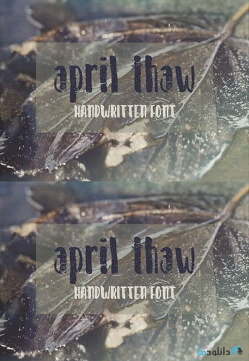 April-Thaw-Font