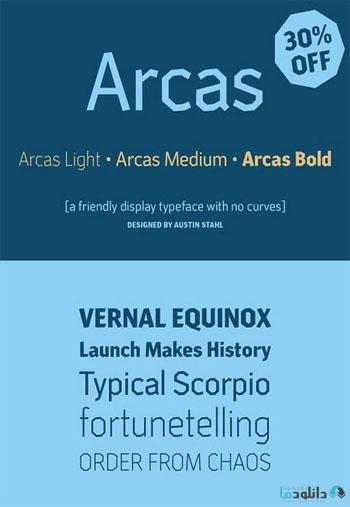Arcas Font