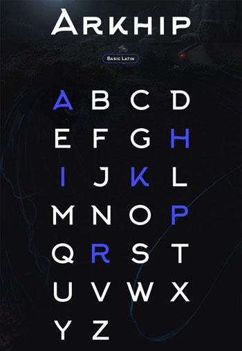 Arkhip Sans Font