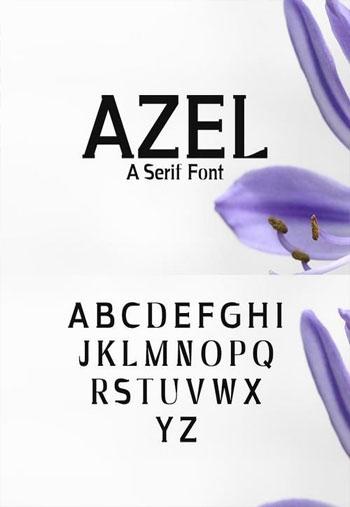 Azel-Serif-Font