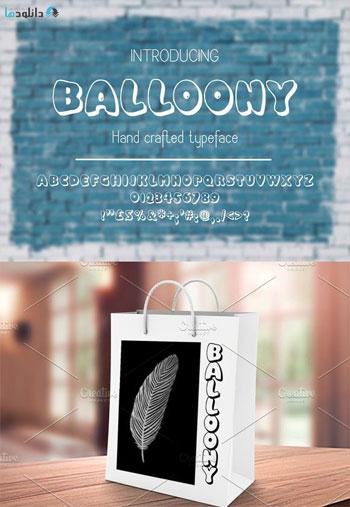 Balloony-Font