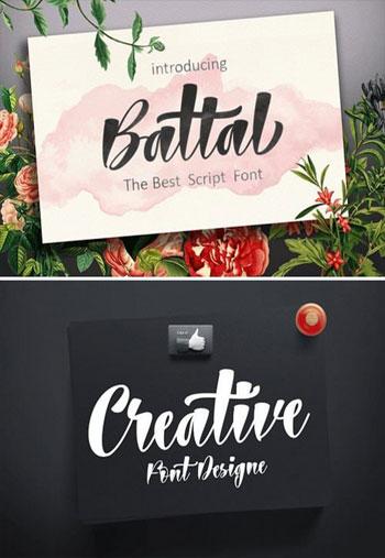 Battal-Script-Font
