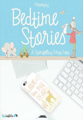 Bedtime-Stories-Font