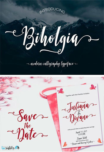 Biholgia Font