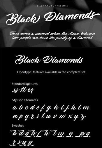 Black-Diamonds-Font