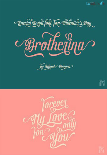 Brotherina-Script-Font