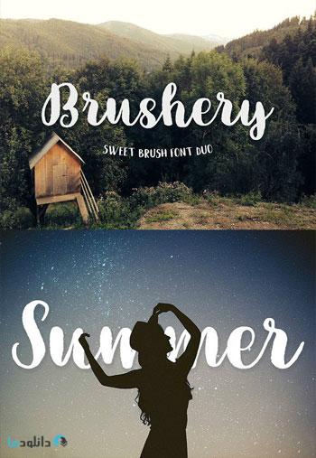 Brushery-Font