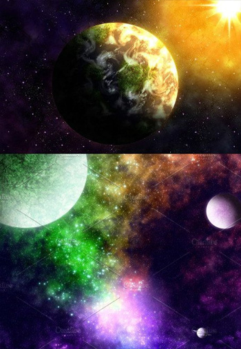 COSMOS-Photoshop-Action-Set