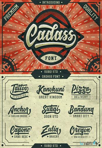 Cadass-Font