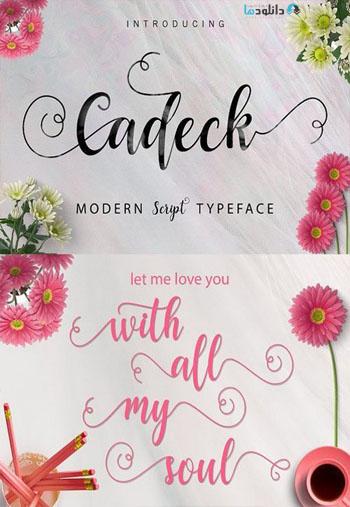 Cadec Font