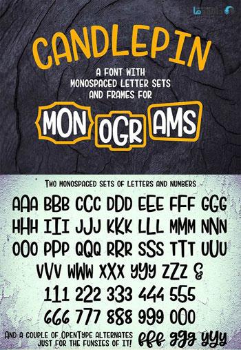 Candlepin-Font