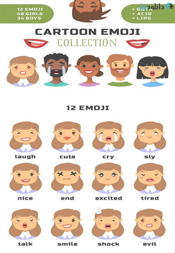 Cartoon-people-emoji