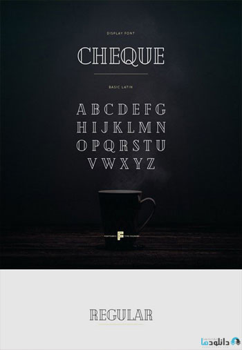Cheque-Font