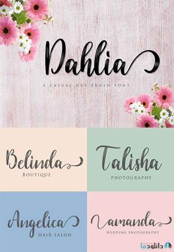 Dahlia-Font