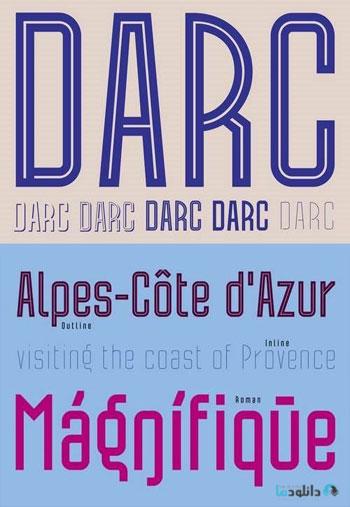 Darc-Font