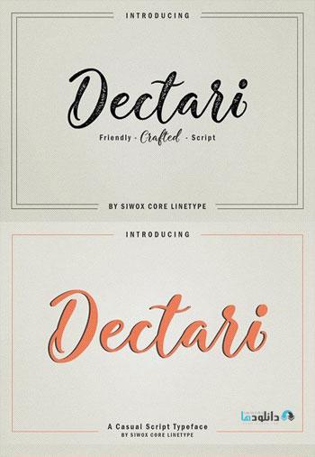 Dectari Font