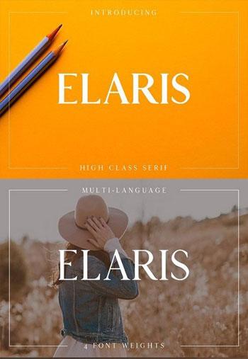 Elaris-Serif-Fonts