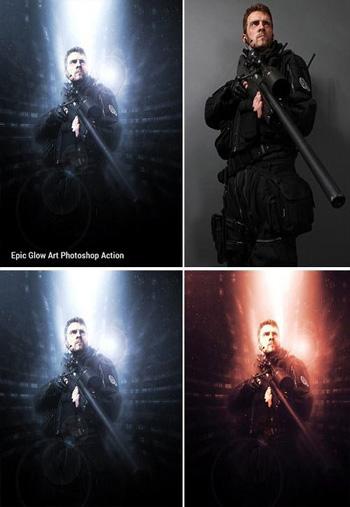 Epic-Glow-Photoshop-Action