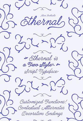Ethernal-Script-Font