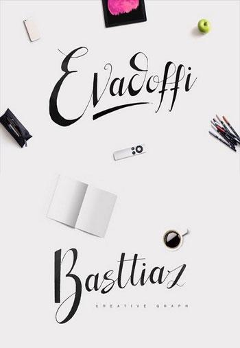 Evadoffi-Typeface