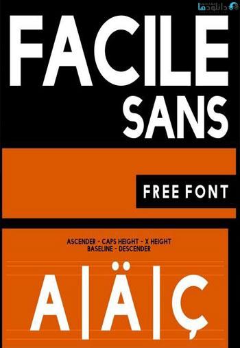 Facile-Sans-Font