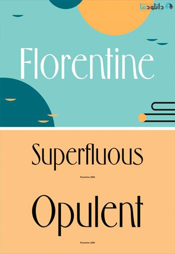 Florentine-Font