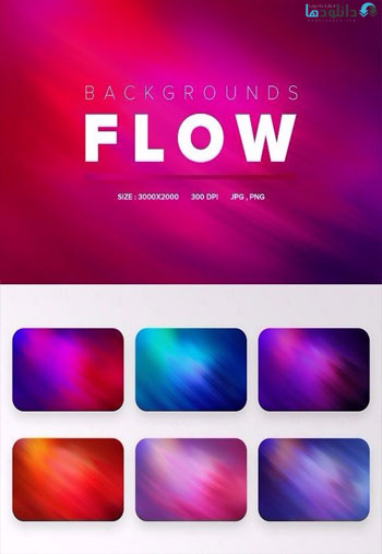 Flow-Backgrounds