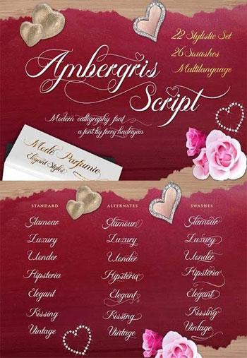 Fontbundles---Ambergris-Fon