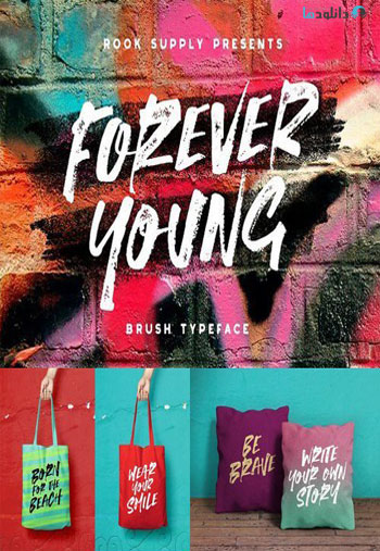 Forever-Young-Font