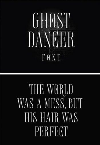 Ghost-Dancer-Font