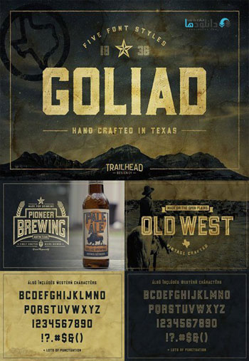 Goliad-Font