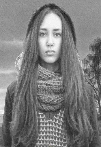 Graphite-Portrait-Photoshop