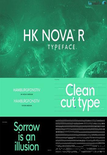 HK-Nova-Font
