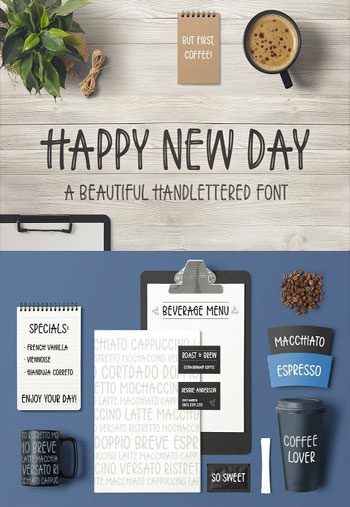 Happy-New-Day-Font