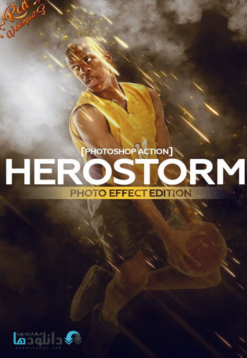 Herostorm-Photoshop-Action