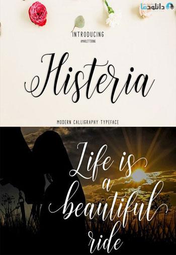 Histeria-Font
