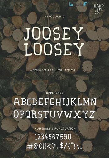 Joosey-Loosey-Font