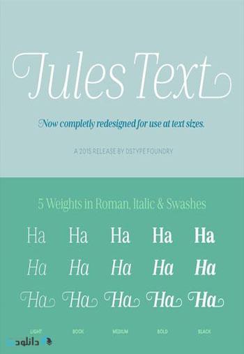 Jules-Text-Font