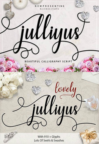 Julliyus-Script-Font