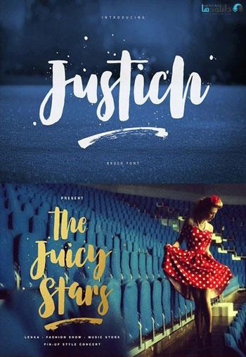 Justich-Font