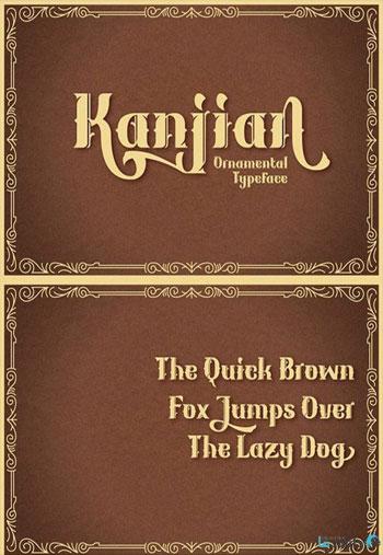 Kanjian-Typeface