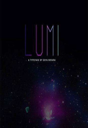 LUMI-Light-font