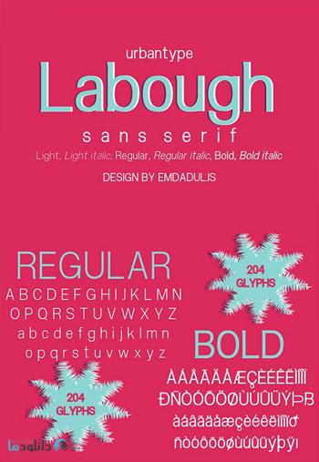 Labough-Fonts
