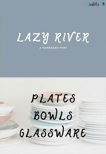 Lazy-River-font