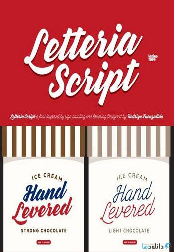 Letteria-Script-Font