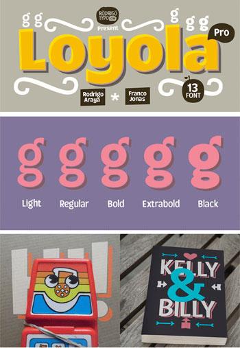 Loyola-Pro-Font-Family