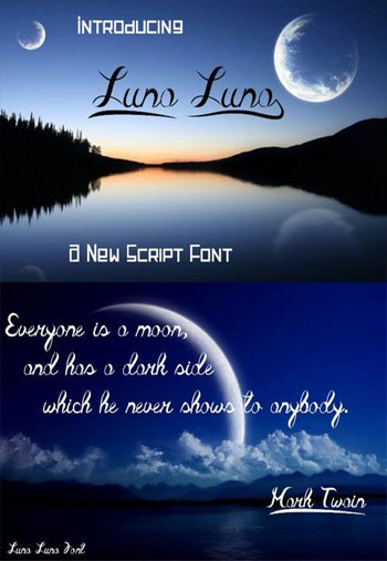 Luna-Luna-font