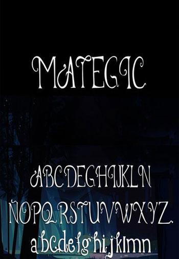 MATEGIC-Font