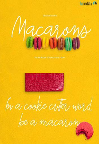 Macarons Font